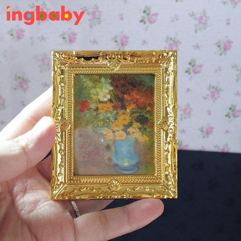 1:12 Puppenhaus Miniaturen Mini Bilderrahmen Miniatur häuser ...