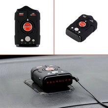 Nueva venta caliente V8 de 360 Grados Del Coche Detector de Radar 16 Banda rusia/Inglés versión Pantalla LED Anti Radar Detector XK NK Ku Ka láser