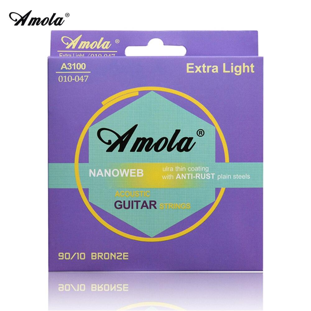 Elixir Guitar Strings Acoustic 010 011 012 013 Cordas Elixir Violao 11002 11025 11027 11052 16027 16052 16102