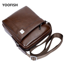 купить New Arrival Men's Bag Messenger Bag High Quatity PU Leather Men Fashion Bag Travel Crossbody bags For Male Free Shipping по цене 1230.98 рублей