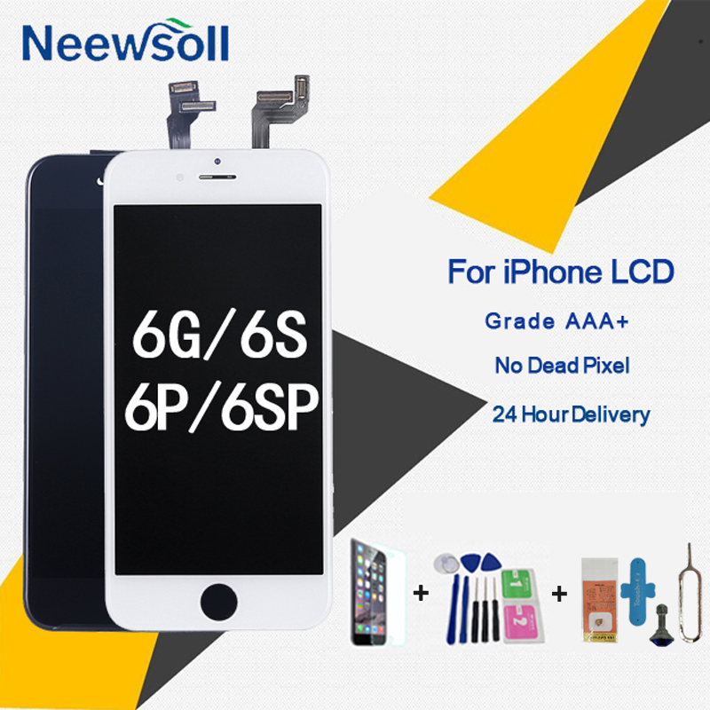 Grade AAA+ LCD Display For iPhone 6 6S Plus LCD Screen Replacement With 3D Force Touch Screen Digitizer Assembly Display