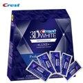 Crest 3D White Whitestrips Efeitos Profissionais de LUXE Original Dentes Higiene Oral Branqueamento 20 Bolsas/Caixa ou 10 Bolsas/nenhuma Caixa