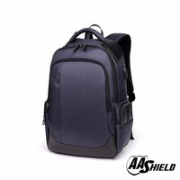 AA Shield Bullet Proof School Bag Ballistic NIJ IIIA 3A Plate Safety Body Armor Backpack Panel Insert Navy