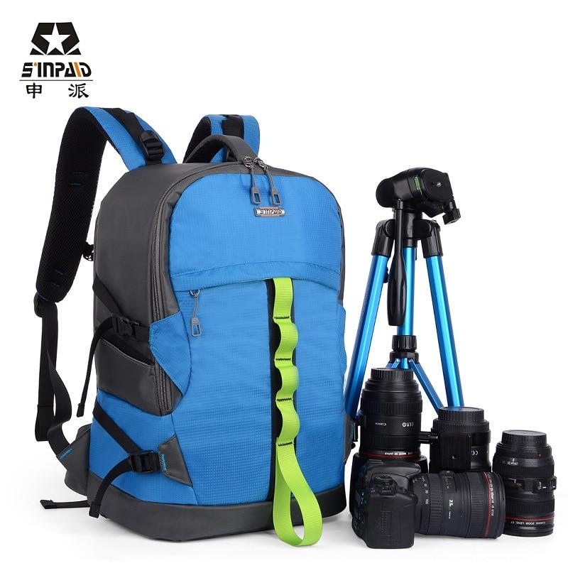 waterproof travel hiking camera backpack bags nylon climbing bag colorful camera backpack bag,trendy leisure bags CD50 benro cws30 nylon camera bag waterproof shockproof shoulder bag
