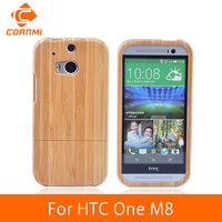 CORNMI For HTC One M8 Case Brand Luxury Wooden Hard Back Cover Wood Phone Case For