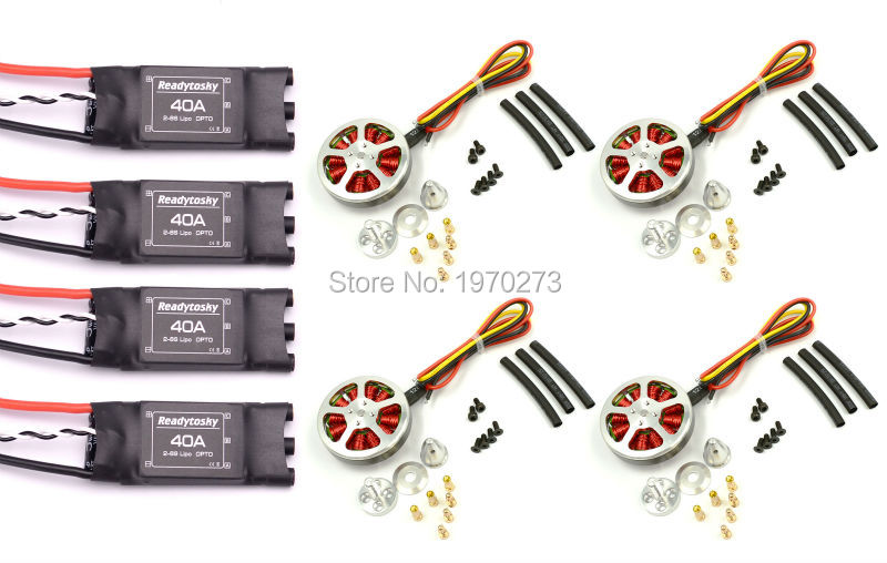 Readytosky 40A ESC OPTO Brushless Speed Controller 2 6S 5010 360KV High Torque Brushless Motor