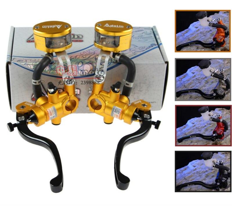 CNC lever Handlebar Hydraulic clutch Brake Pump Master Cylinder Motorcycle Racing motorbike Universal For Yamaha Kawasaki Suzuki