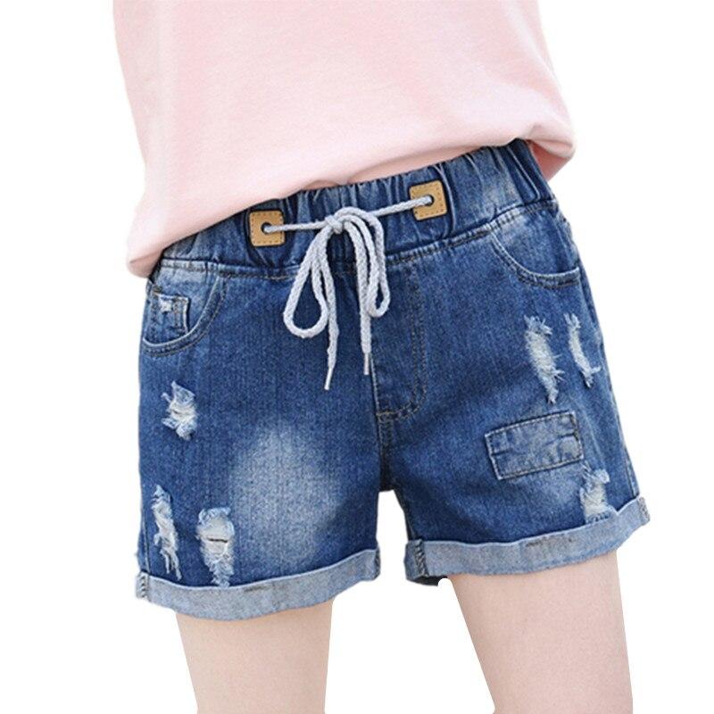 Denim Shorts Wide-Legs High-Waisted Cheap Women's Summer Fashion Wholesale Casual New
