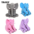 1 Pc 30cm 40cm Lovely Cartoon Soft Stuffed Plush Elephant Appease Toys Baby Kids Educational Birthday Xmas Pillow Dolls Gifts