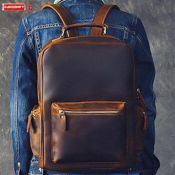 Ανδρικό σακίδιο μεγάλης χωρητικότητας laptop σακίδιο ώμου τσάντα υπολογιστή