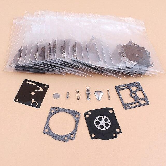20 teile/los Vergaser Membran Rebuild Reparatur Kit Für STIHL MS340 MS360 034 036 044 Kettensäge Zama C3A Serie S19 S26 s38A Carb