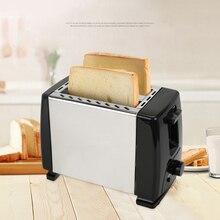 Автоматический тостер, тостер с 2х широкими прорезями для до 4х дисков, 6х шелковых ступеней с горячим рулоном для Круассанов, бубликов, штепсельной вилки европейского стандарта