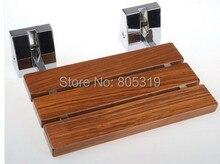 Тикового душ, раскладное дерева современные сиденье сиденья настенный душ