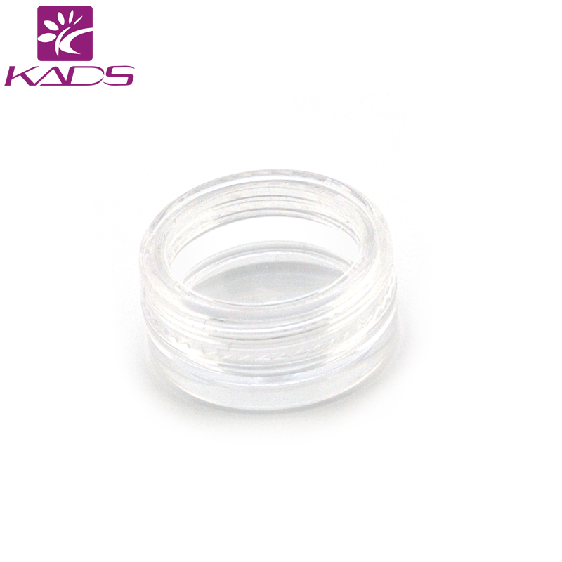 KADS 400PCS/LOT 3g cream bottle,clear empty plastic cream bottle,nail art glitter dust powder case,cream Decoration case pot. 100pcs pack 5g portable nail art cream bottle plastic empty clear cream bottle for nail art glitter dust powder