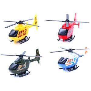 Image 1 - 3 вида стилей самолетов Diecasts транспортных средств игрушка Дети военный самолет вертолет модель самолета игрушка для детей