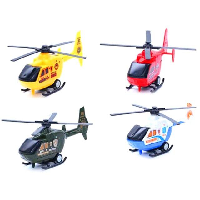 3 вида стилей самолетов Diecasts транспортных средств игрушка Дети военный самолет вертолет модель самолета игрушка для детей