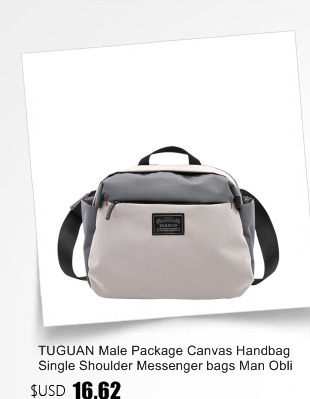 fc1e324a4dd4 TUGUAN мужские сумки-мессенджеры мужские модные деловые дорожные сумки на  плечо женские парусиновые портфели мужские сумки через плечо XB1701T