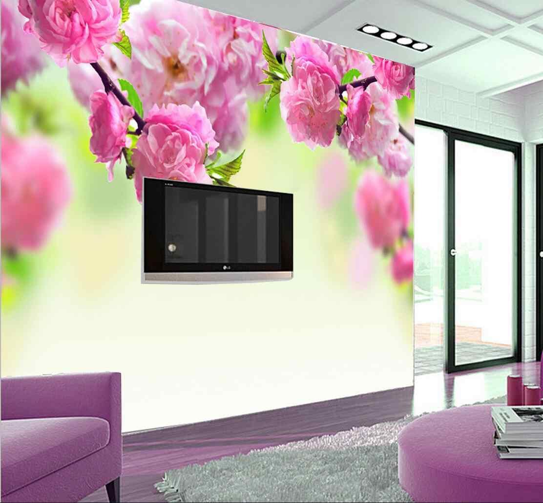 Papier Peint Feuillage 3d Tapety Modern Floral Wallpaper Sofa Tv