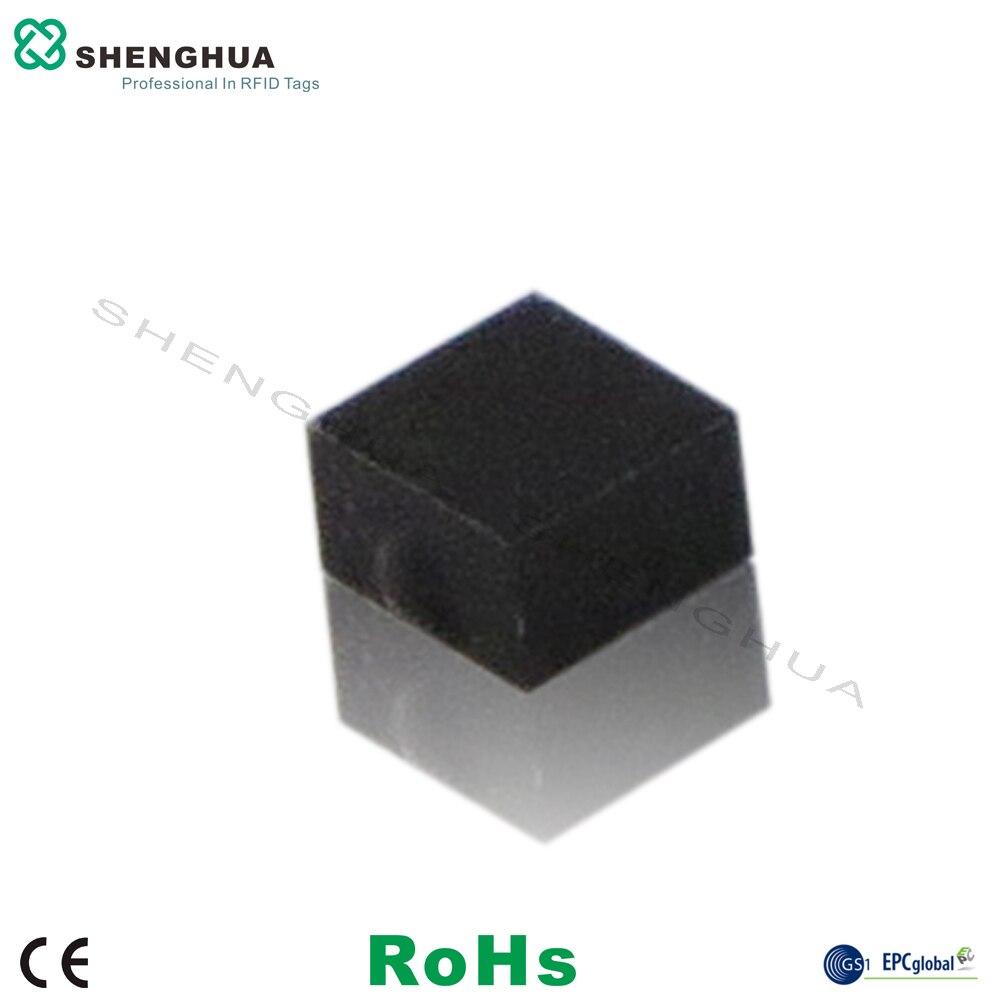 10pcs/pack Smallest 860-960Mhz Passive On Metal UHF RFID Tag Anti Metal Ceramic Rewritable Waterproof For Hospital Metallic Item