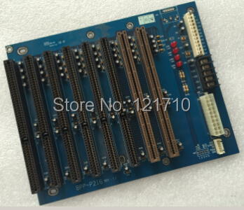 Industrial equipment 8 -slot backplane BPP-P2I6 REV 1.1 6*ISA 2*PCISA industrial equipment workstation network card 3c509b tp 03 0021 210 rev a