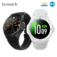 [STOCK] Global Ticwatch S2 Wear OS by Google Smart Watch Bluetooth WIFI 5ATM Waterproof Smartwatch Heart rate Health tracker