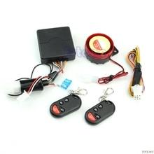 купить Motorcycle Bike Security Alarm System Immobiliser Remote Control Engine Start дешево