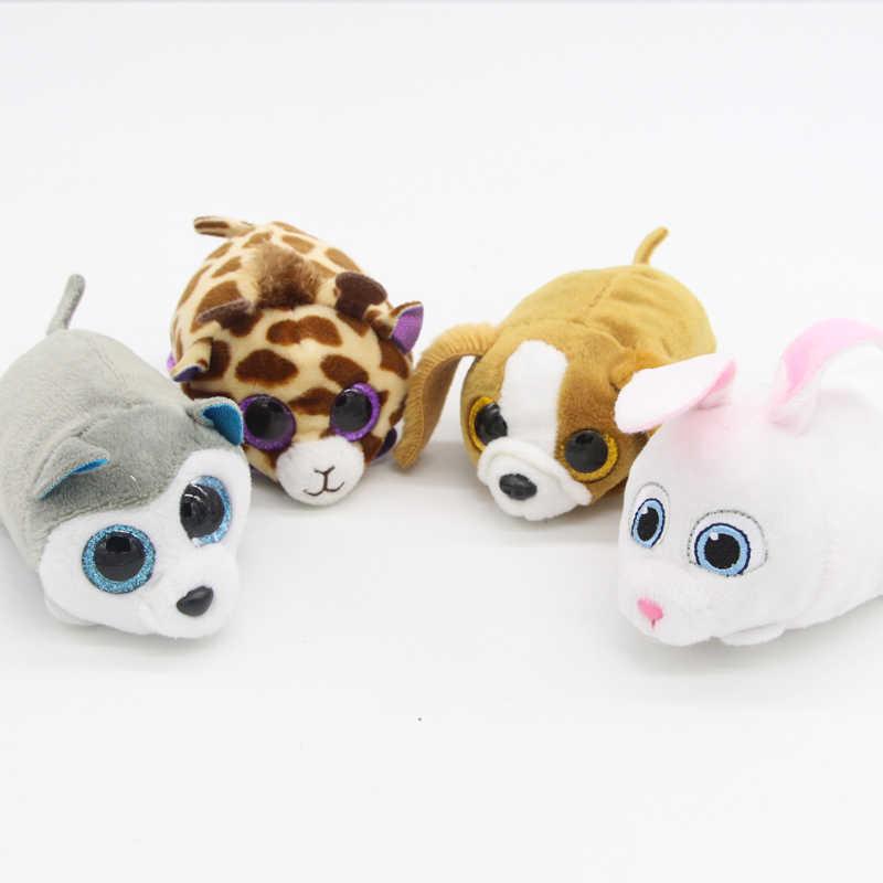 07e3097afaf ... Cute 1pcs Ty Beanie Boos Original Big Eyes 8cm TSUM TSUM Dog Cats Pets  Plush Dolls