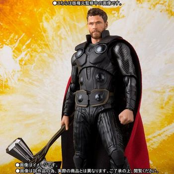 Marvel Avengers Super Hero Thor with Stormbreaker Infinity War BJD PVC Action Figure Collectible Model Toy image