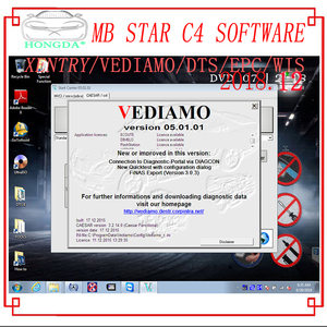 Image 4 - Newest Comprehensive 2020.09 MB STAR  C4 C5 6 VCI  full Software XENTRYSCN/DASEPC/WIS/Starfinder/EWA/VEDIAMO/DTS Monaco HDD/SSD