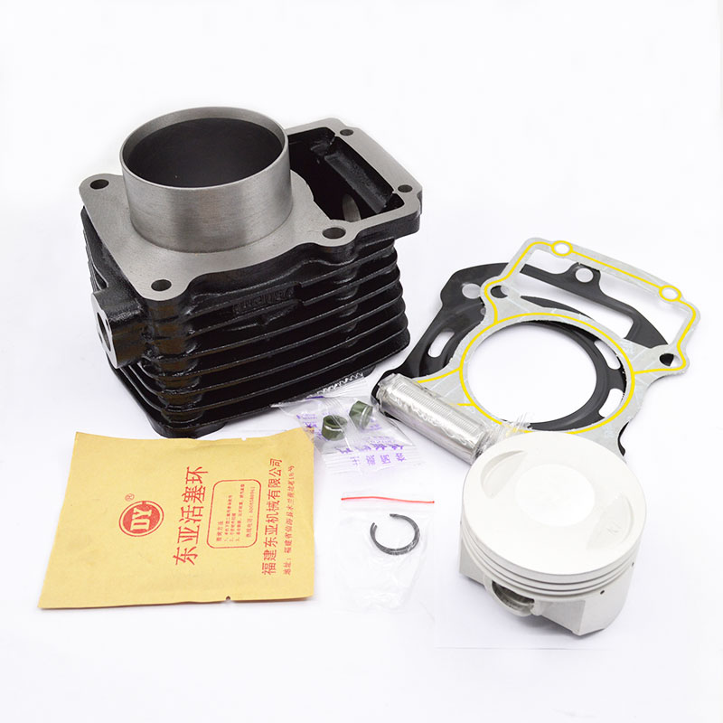 High Quaity Motorcycle Cylinder Kit 70mm Bore For ZONGSHEN SB250 SB 250 Tsunami Series Water-cooled Aluminium Engine Spare Parts high quaity motorcycle cylinder kit 70mm bore for lifan cg250 cg 250 250cc uitralcold engine spare parts
