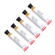 5pcs No-Clean Solder Soldering Paste 10cc Flux Grease RMA223 RMA-223