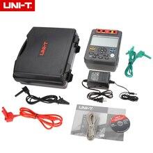 UNI-T UT513 Цифровой Сопротивление изоляции Тесты er Тесты метр megger 1 м-1000 г Ом 5000 В и USB Интерфейс