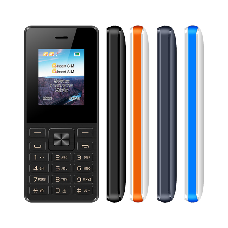 UNIWA ECON No.4 Feature Mobile Phone GSM 2G Unlock Dual SIM Card Feature Phone FM Radio MP3 Button Russian Keyboard Cellphone feature phone