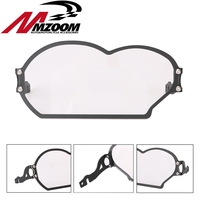 Motorcycle Accessories Front Shield Headlight Guards Transparent Steel And Plastic ABS Brake For BMW R1200GS 2005