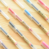 Japan MUJI Gel Pen 0 38 0 5 MM New Anti Reflux Neutral Gel Ink Pen