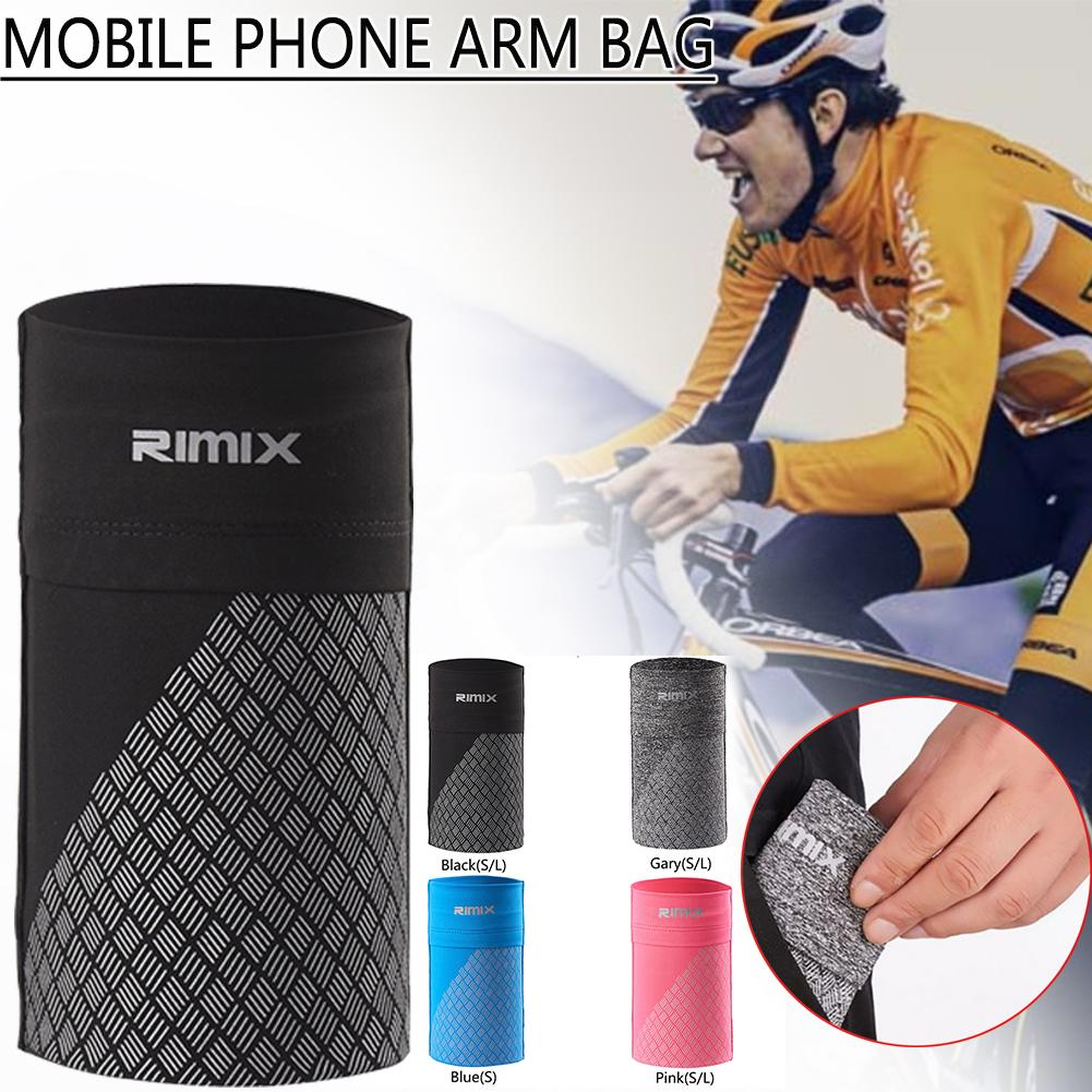 Running Wrist Arm Bag Outdoor Sports Elastic Mobile Phone Case Armband Bag Fitness Non-slip Phone Pouches Cycling Running Bag