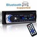 Autoradio 12 v rádio do carro bluetooth1 din jogador som do carro aux telefone-in mp3 fm/usb/radio áudio do carro de controle remoto para o iphone