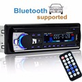 Din car stereo autoradio 12 v car radio bluetooth1 teléfono reproductor aux-in mp3 fm/usb/radio audio del coche de control remoto para iphone