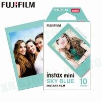 Пленка Fujifilm Instax Mini 8 9 Blue sky Fuji Instant photo paper 10 листов для 70 7 s 50 s 50i 90 25 Share SP-1 2 Lomo camera