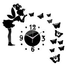 New Acrylic Wall Sticker Adesivo De Parede Diy Mirror Stickers Home Decor Vinilos Paredes Wall Clock Photo Poster Europe
