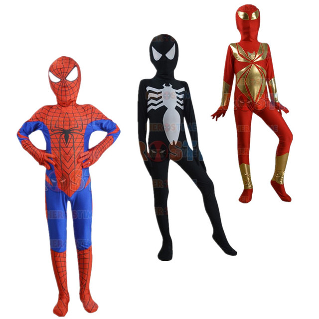 Childrens/Adult Boys/Mens Halloween Party Spiderman/Deadpool Cosplay Costumes Kids Zentai Lycra  sc 1 st  AliExpress.com & Childrens/Adult Boys/Mens Halloween Party Spiderman/Deadpool Cosplay ...