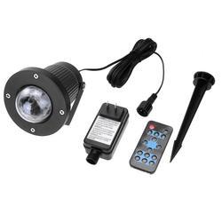 Водонепроницаемый свет этапа лазерный проектор лампы для Рождество Garden Party пейзаж Наружное освещение с Дистанционное управление
