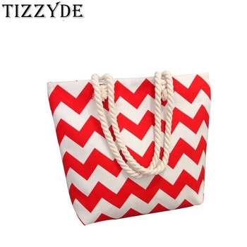 2019 Fashion Handbags Stripe Thick And Durable Wind Canvas Shoulder Bag Women Large Capacity Simple Print Wild Handbag JW0028