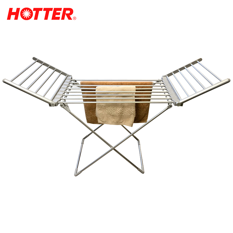 HOTTER HX-230 Electric clothes dryer Foldable Thermostatic Clothes Drying Rack Energy Saving Clothes Shoe Drying Machine stainless steel dry fruit machine pet food dehydrator machine vegetable dryer drying machine 6 trays zf