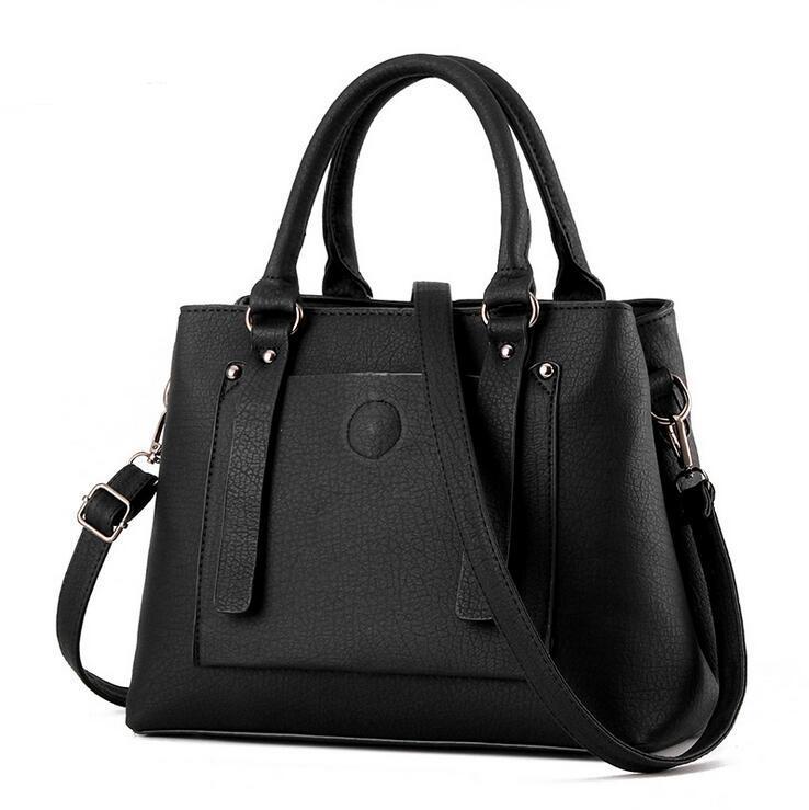 Для женщин из натуральной PU Сумка Для женщин Сумка почтальона Сумочки Tote сумки Для женщин Известные бренды высокого качества сумка женская