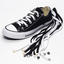 1m 8 Colors No Tie Lazy Quick Shoelces For Chidren and Adults One Hand Laces Sport Flat Athelic Casual Shoes Laces 1 Pair