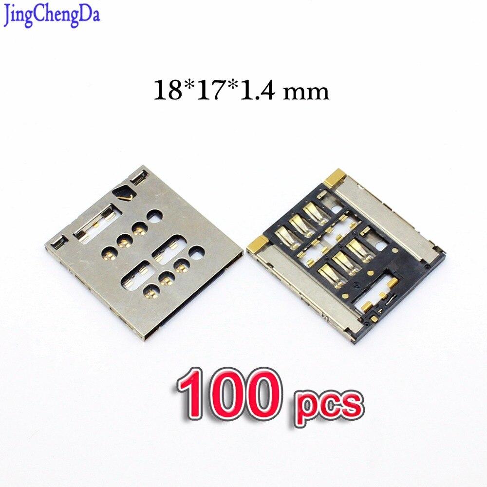Jing Cheng Da 100PCS Sim Card Reader Module Slot Tray Holder Socket connector For Sony Xperia ION LT28 LT28i LT28h Acro S LT26W