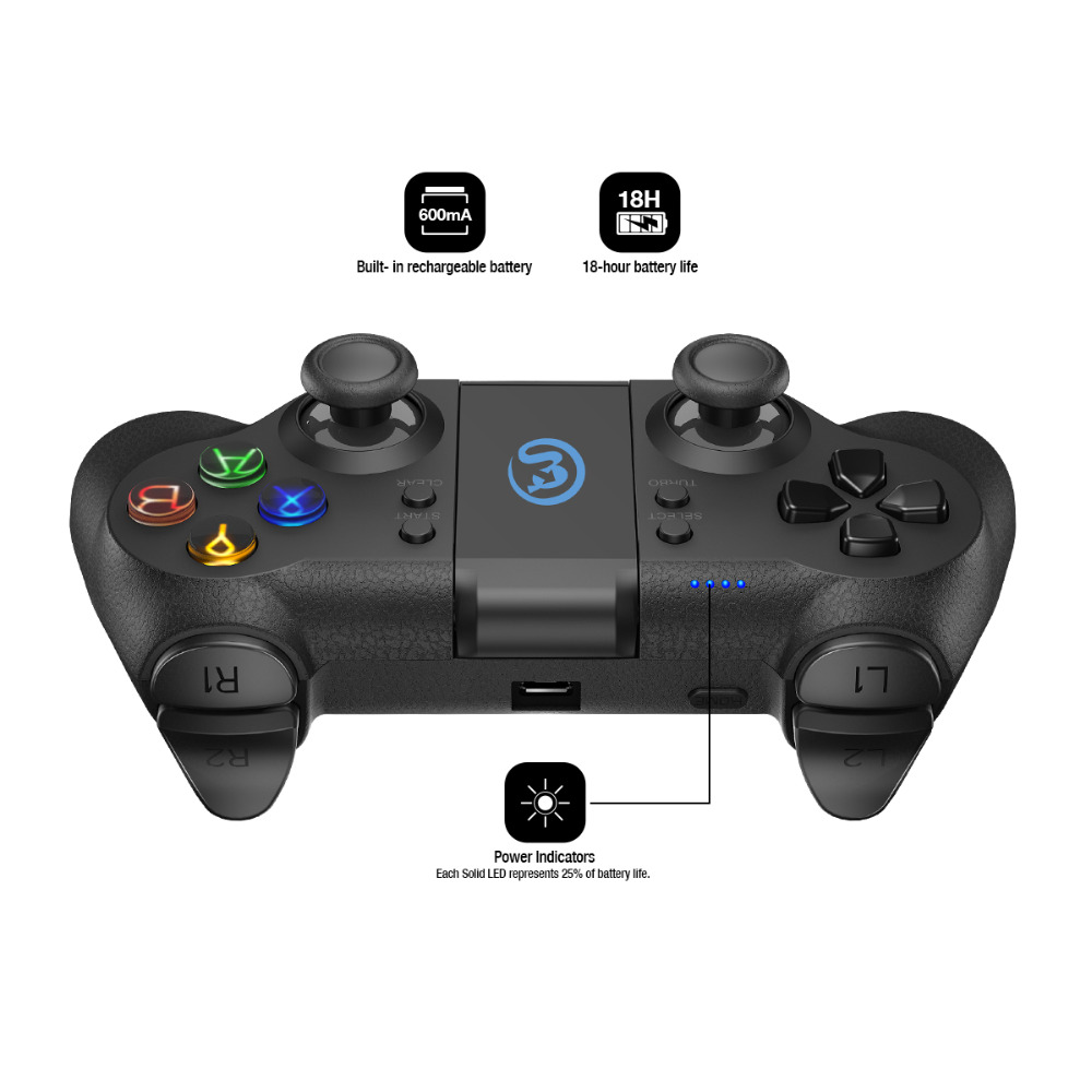 Contrôleur Android GameSir T1 Bluetooth/manette/contrôleur PC filaire USB pour PS3 (CN, US, ES Post) - 4