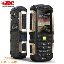 Новый Оригинальный Телефон MANN ZUG S Пыле Противоударный Водонепроницаемый Dual SIm GSM GPRS 2.0 дюймов Старший Russion клавиатура Мобильного Телефона
