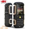 Nuevo teléfono original mann zug s a prueba de polvo a prueba de choques impermeable dual SIm GSM 3G WCDMA GPRS 2.0 pulgadas Móvil Russion teclado teléfono